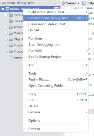 5  Development environment (C#): Linux + Monodevelop — iFun